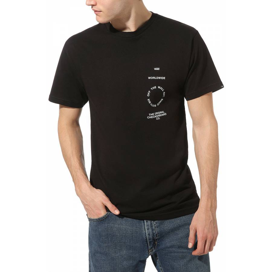 Vans Distortion T-shirt - Black