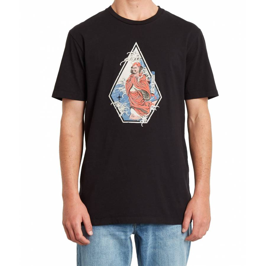 Volcom Nozaka Surf T-shirt - Black