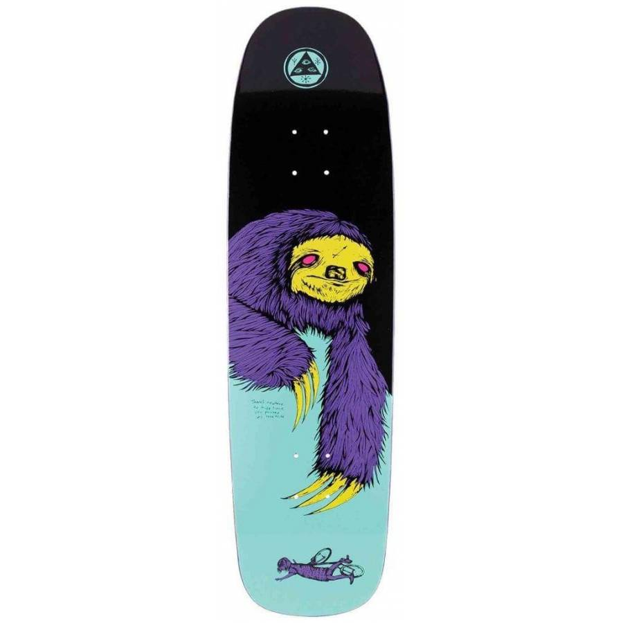 Welcome Sloth On Son Of Golem Skateboard Deck - 8....