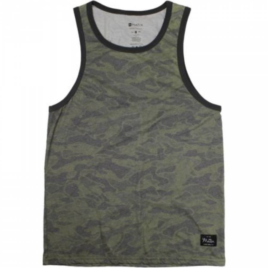 Matix Trip Tank Top - Army