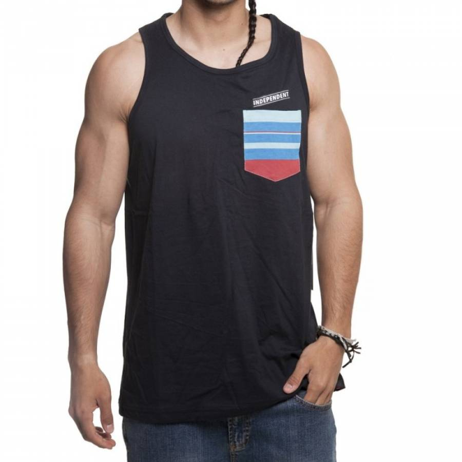 Independent Upland Tank Top - Black