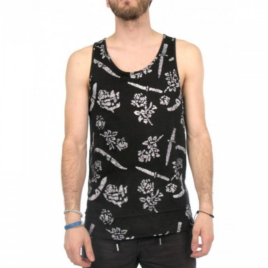 KR3W MYST TANK TOP - BLACK