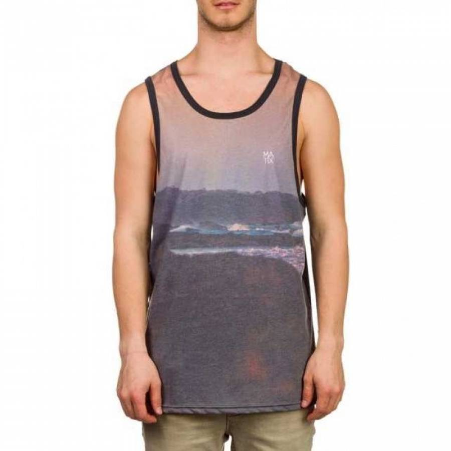 Matix Beached Tank Top - Black