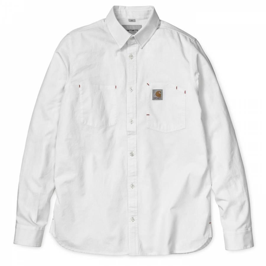 Carhartt L/S State Shirt - Wax ( Rinsed )