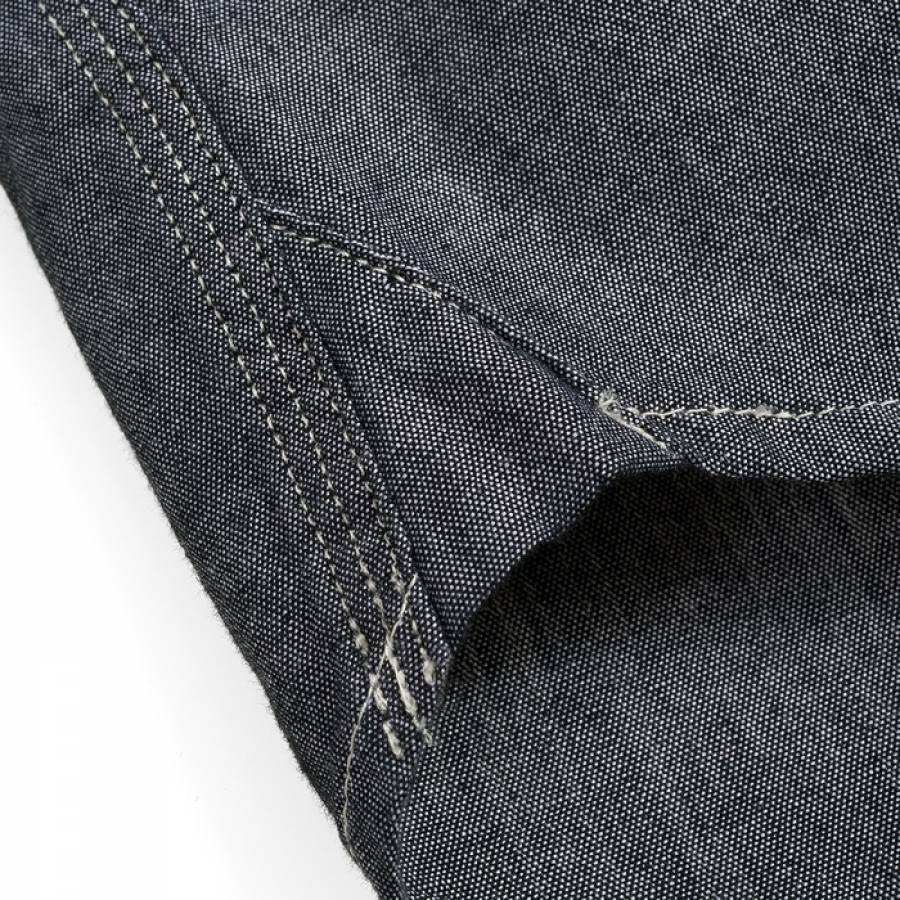 Carhartt L/S Lewis Shirt -  Black / Craig Check, Alabama (rinsed)