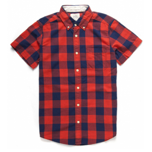 DEUS EX MACHINA ALBIE GINGHAM SHIRT - Red Check