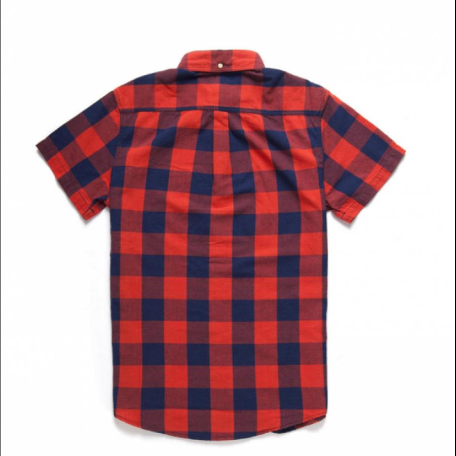 Deus Ex Machina Albie Gingham Shirt - Red Check