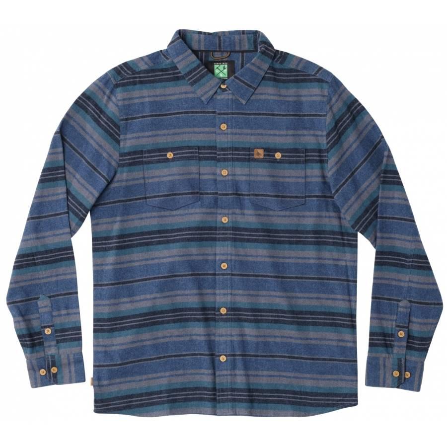 Hippytree Porter Flannel - Blue