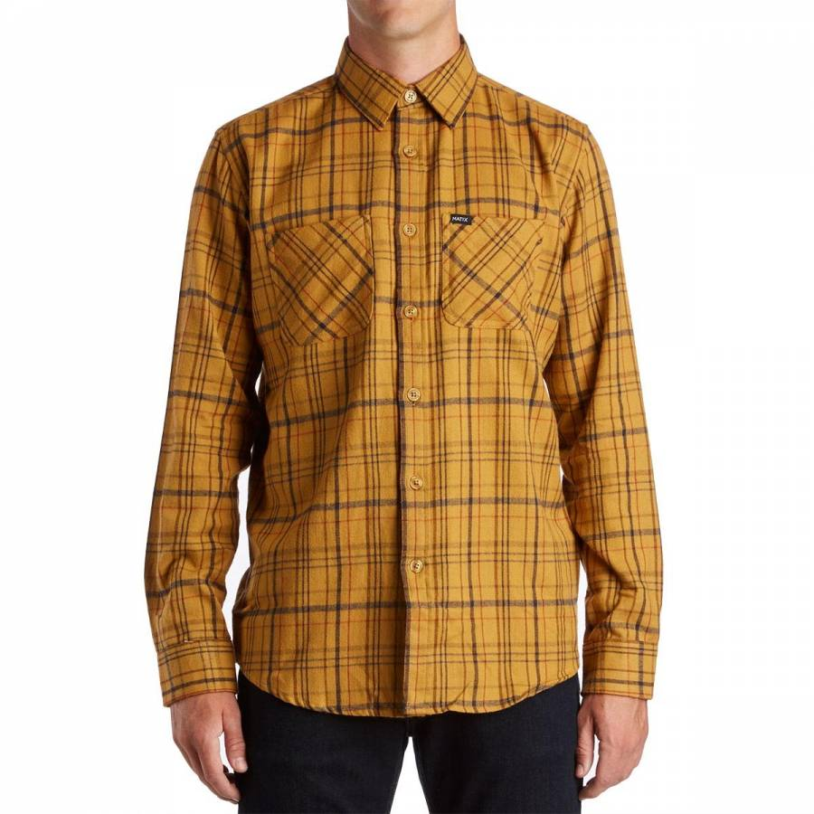 Matix Portland Flannel Shirt - Gold