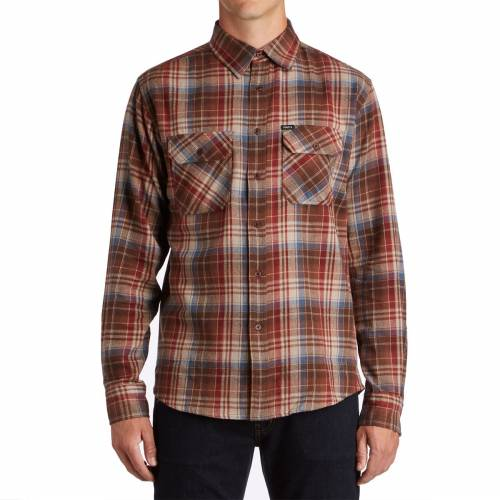 Matix Starks Flannel Shirt - Brown