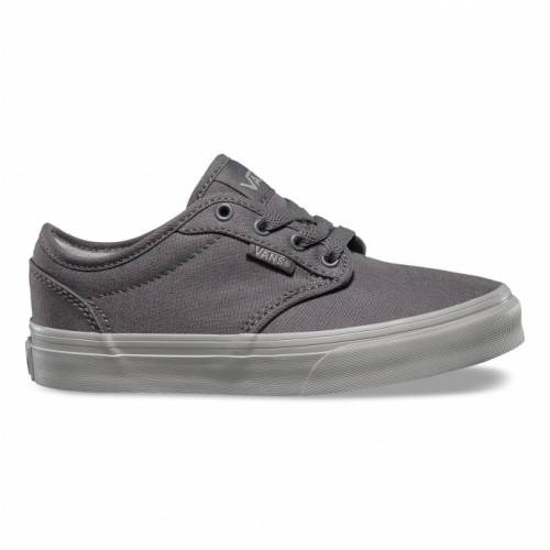 VANS KIDS CHECK LINER ATWOOD SHOES - GREY / LIGHT...