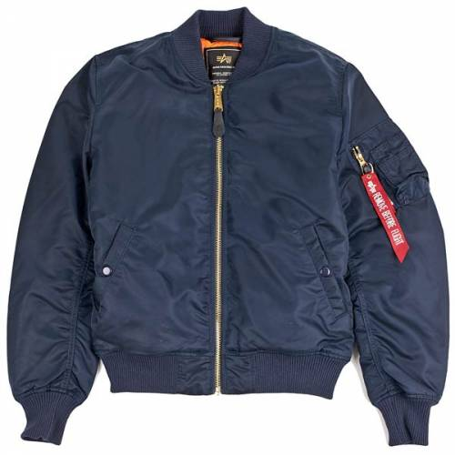 ALPHA INDUSTRIES MA-1 VF 59 JACKET - REP BLUE