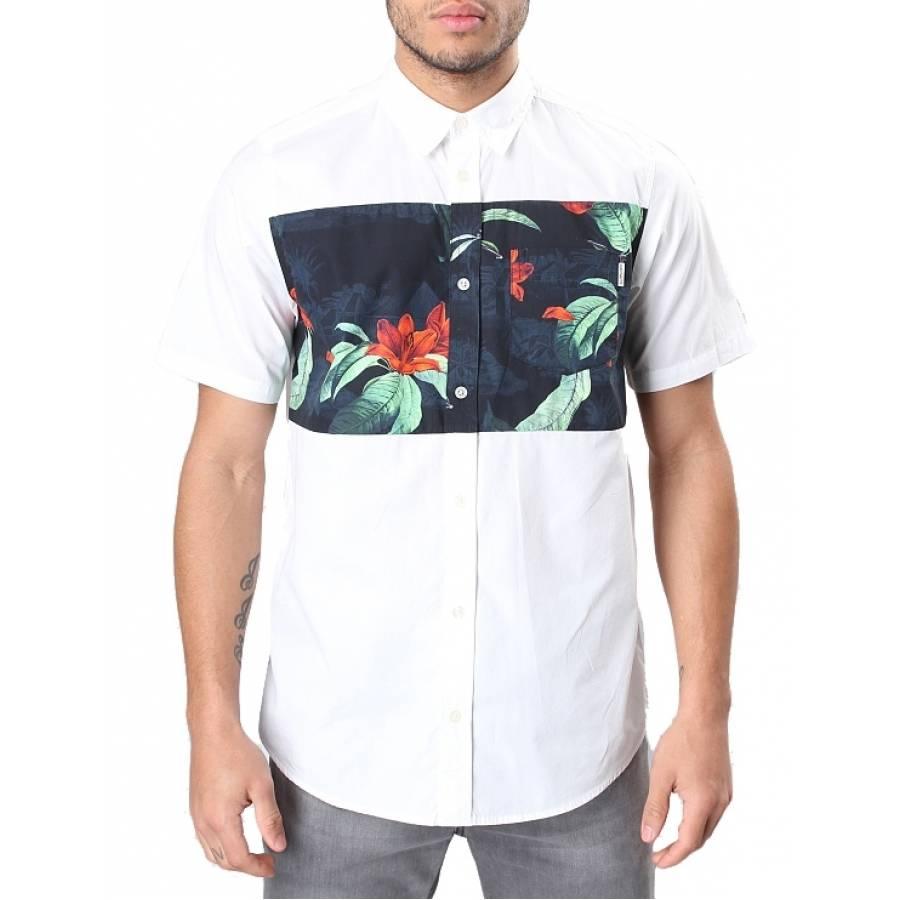 Carhartt Gosling Shirt - White Tropic Print