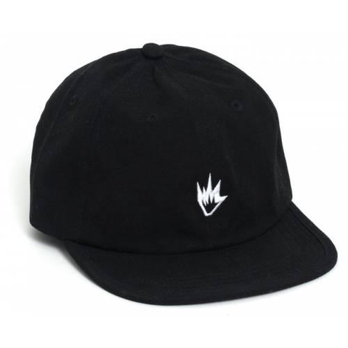 Afends Flame Snapback - Black