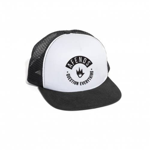 AFENDS BASE TRUCKER CAP - WHITE