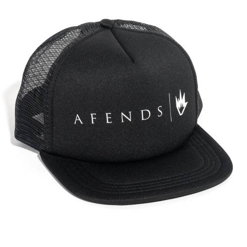AFENDS BREAD & BUTTER TRUCKER CAP  - BLACK