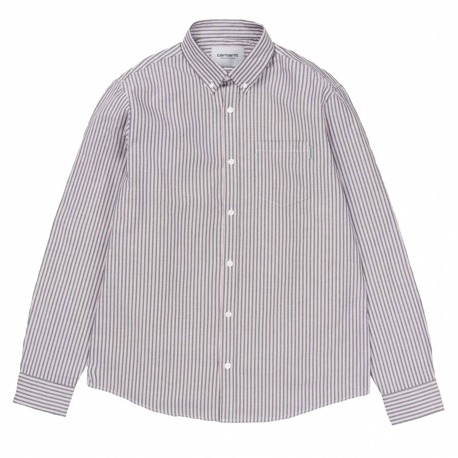Carhartt L/S Salinger Shirt - Salinger Stripe / Bl...