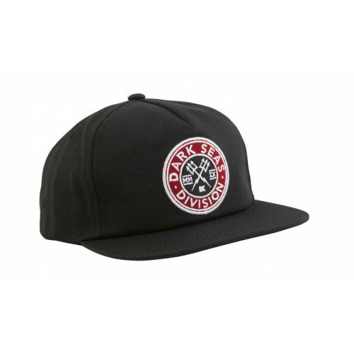DARK SEAS JOURNEYMAN SNAPBACK - BLACK