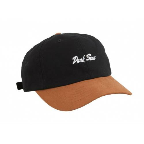 DARK SEAS DAKOTA HAT - BLACK / BROWN