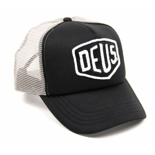 Deus Ex Machina Baylands Trucker Cap - Black / Grey