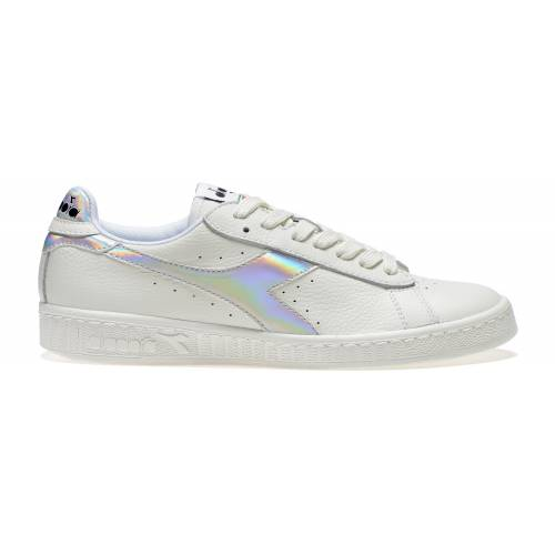 DIADORA GAME HOLOGRAM WOMEN'S SHOES - WHITE