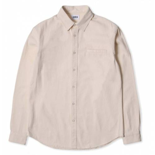 EDWIN BETTER SHIRT - NATURAL