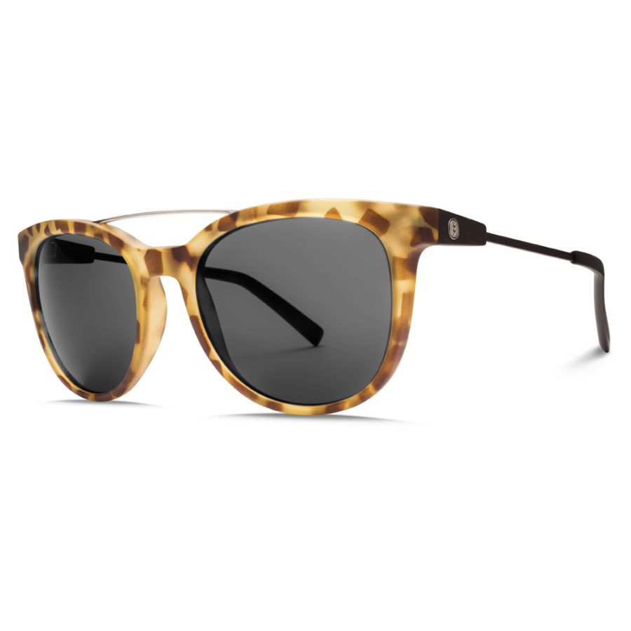 Electric Bengal Wire Sunglasses - Matte Spotted Tort Black