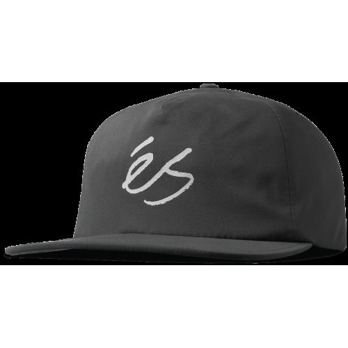 ES TECH SCRIPT CAP - BLACK