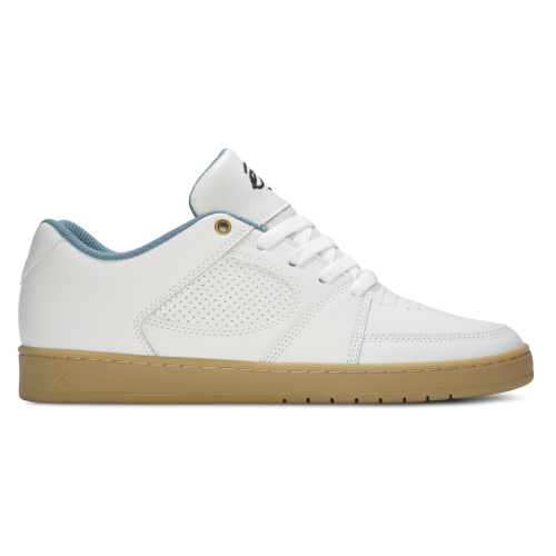 ES ACCEL SLIM SHOES - WHITE / GUM
