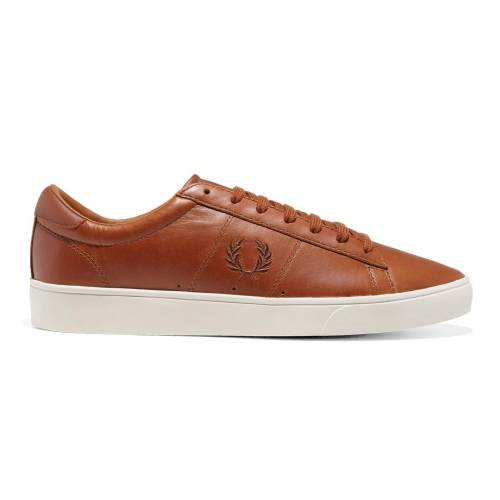 Fred Perry Spencer Leather Shoes - Tan
