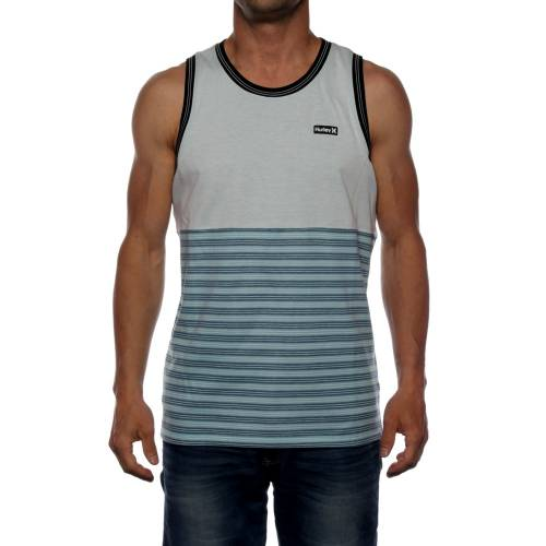 Hurley Dri Fit Tower 5 Tank Top - Blue Heather