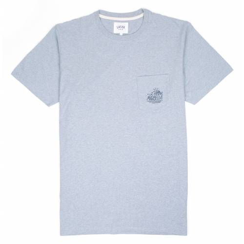 Collective Store - Laser Barcelona La Marbella Pocket Tee - Light ... 2e6101f3f41