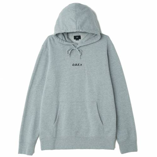 OBEY CORSAIRE PULLOVER - HEATHER GREY