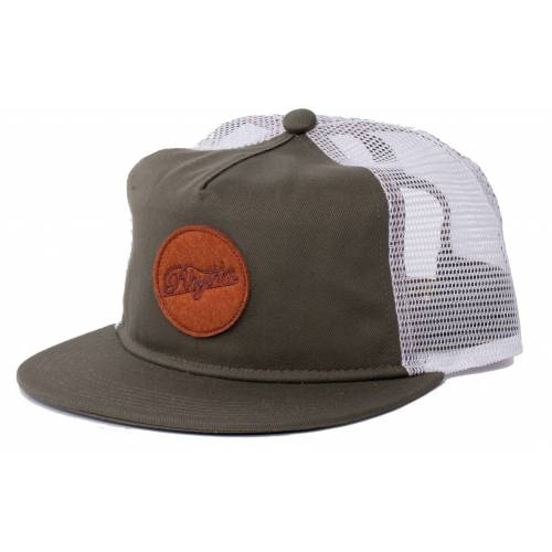 RHYTHM PATCH TRUCKER - OLIVE