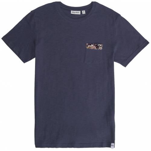 Rhythm Ewart T-shirt Vintage - Navy