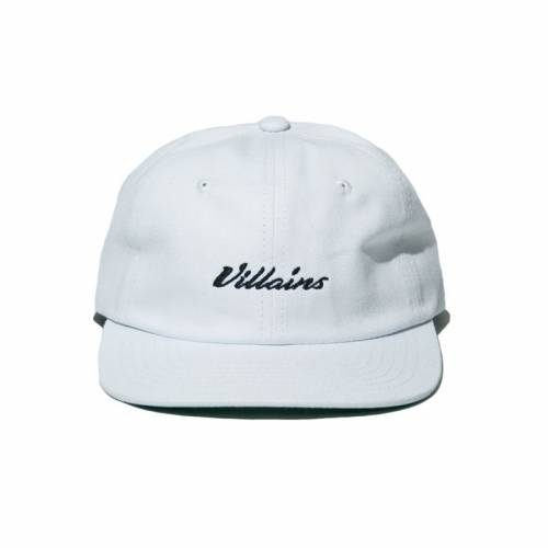 Villans Six Panel Cap - White