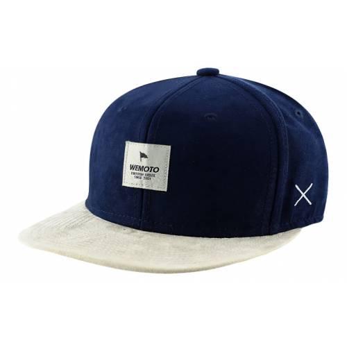 Wemoto Flag Snapback - Navy Blue