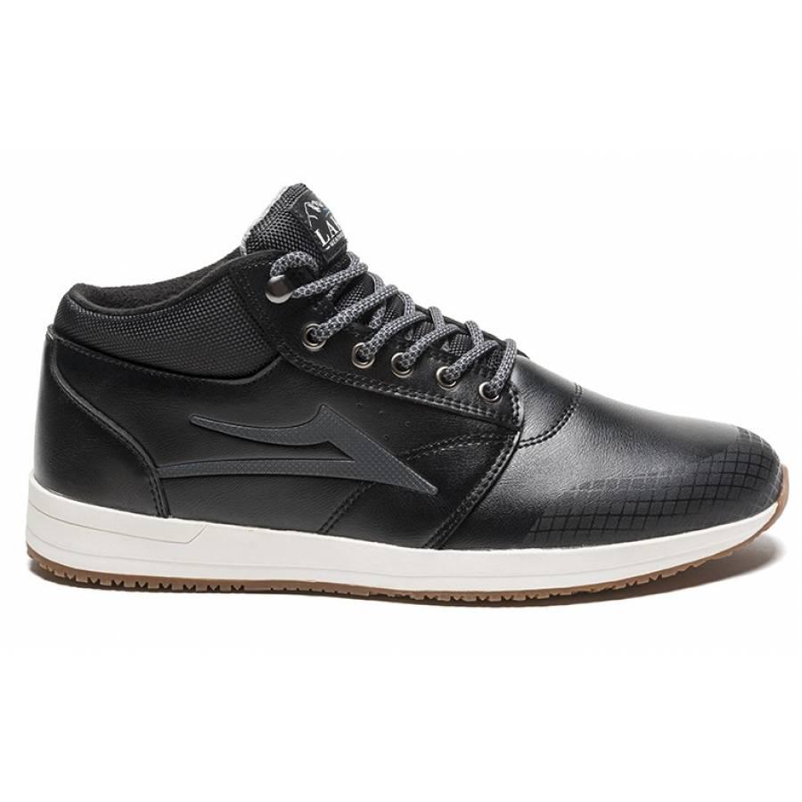 Lakai Griffin Mid Wt Shoes - Black