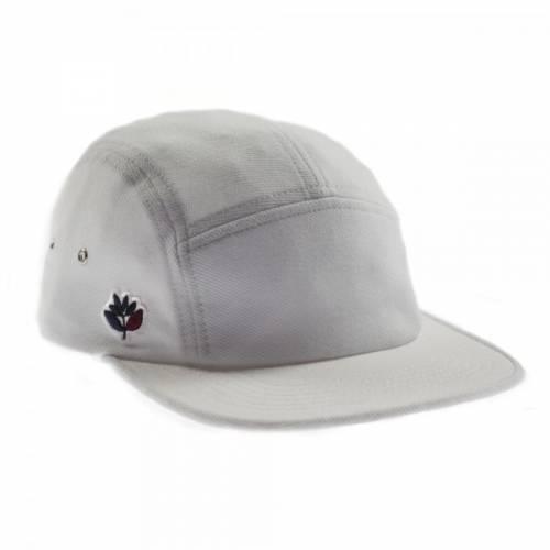 MAGENTA 5P PIQUÉ HAT - WHITE