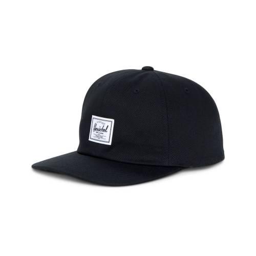 HERSCHEL ALBERT CAP - BLACK