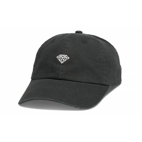 DIAMOND BRILLIANT SPORTS HAT - BLACK