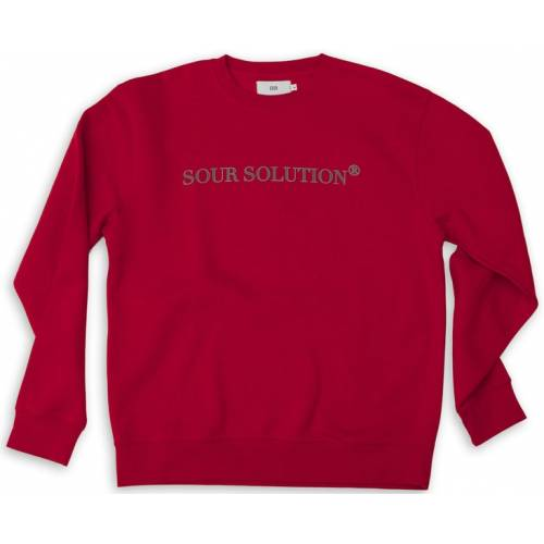 SOUR SOLUTION CREW - RED