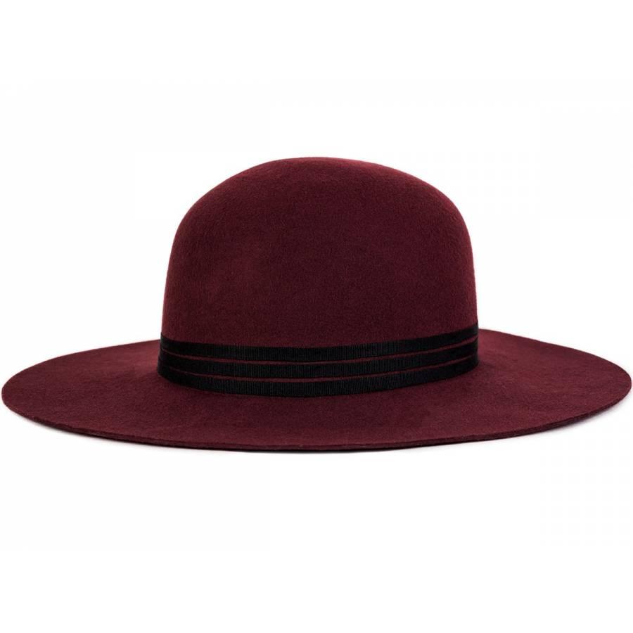 Brixton Magdalena Hat - Burgundy
