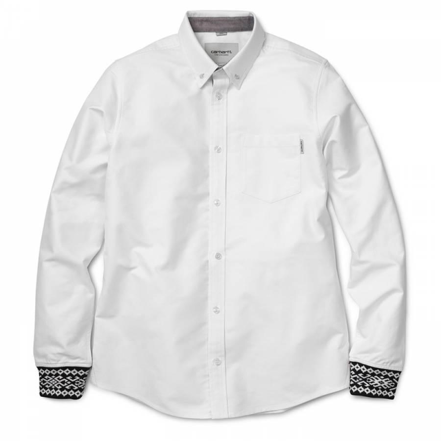 Carhartt L/S Dave Shirt - White