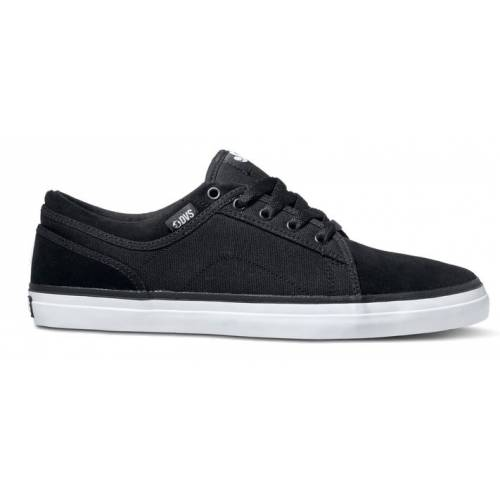 Dvs Aversa Shoes- Black Suede