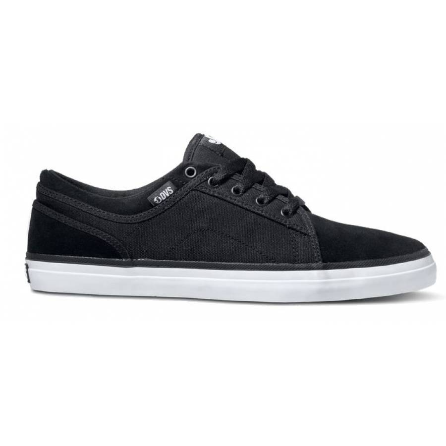 Dvs Aversa Shoes- Black Suede
