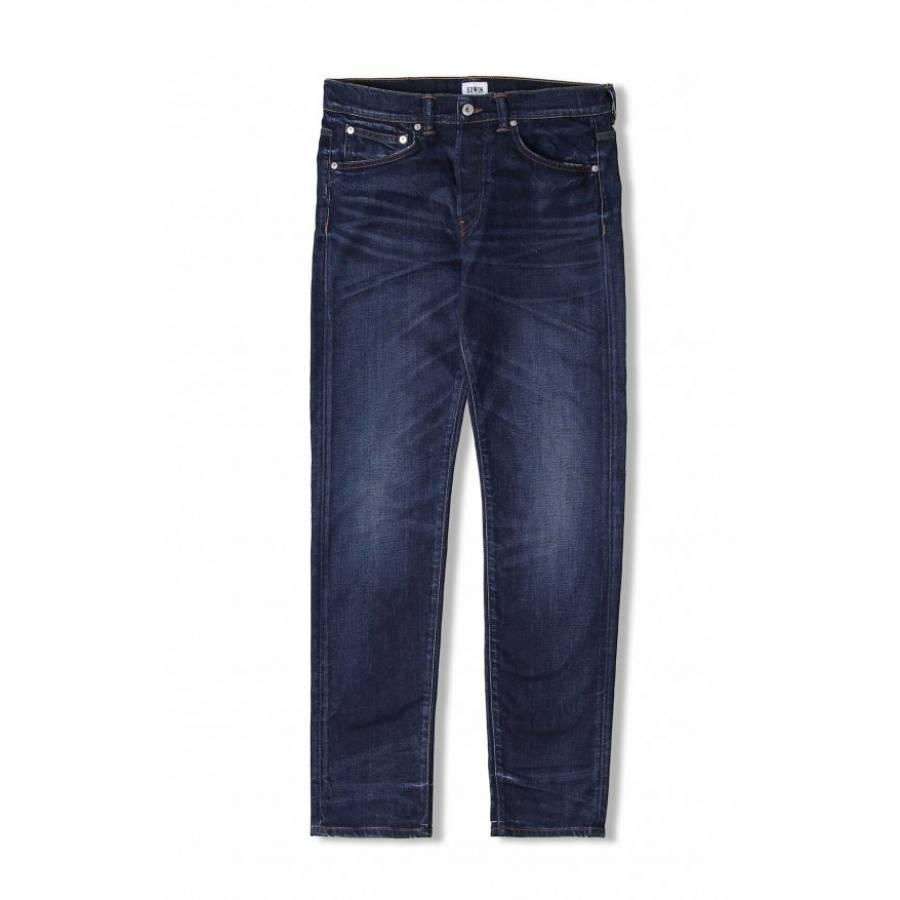 Edwin Ed-80 Slim Tapered Jeans - Night Blue DenimM