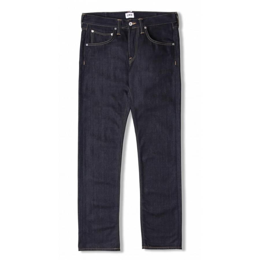 Edwin Ed-55 Regular Tapered Jeans - Deep Blue Deni...