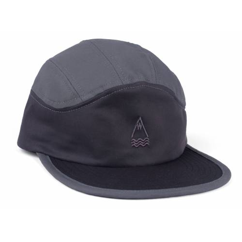 LASER BARCELONA LLACUNA 7 PANEL PACKABLE HAT - BLA...