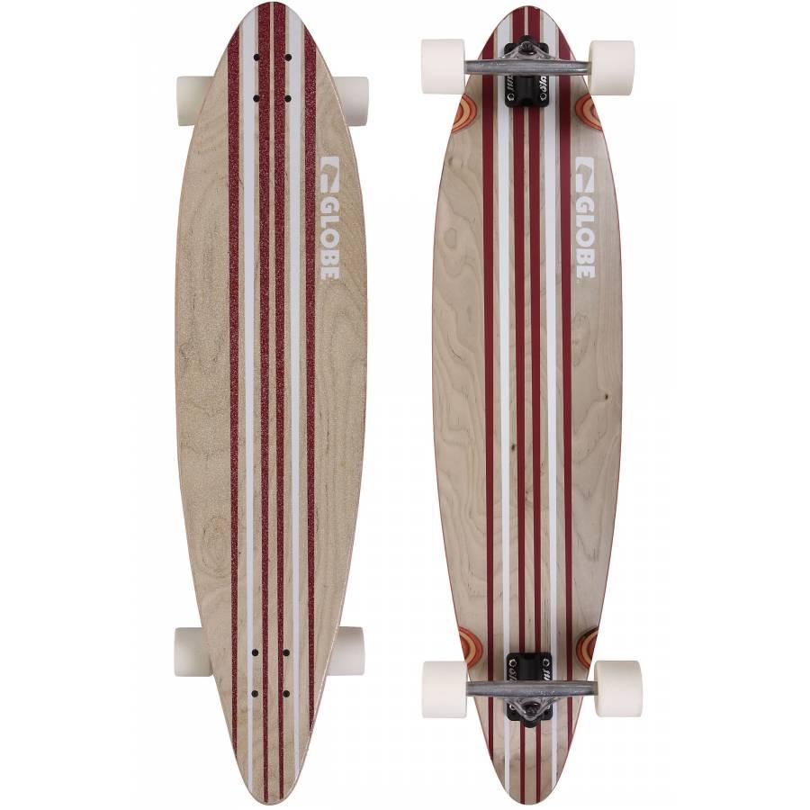 "Globe Pinner 41,25"" (105cm) Longboard - White..."